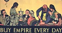 Werbung für Kolonialwaren 1931