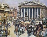 Bank von England und Börse 1887 (cgfa)