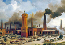 Maschinenfabrik in Berlin 1847