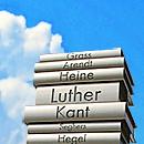 Der moderne Buchdruck, Detail (Bild: Lienhard Schulz, Scholz&Friends, CC Wikimedia, bearb MSchmidt)